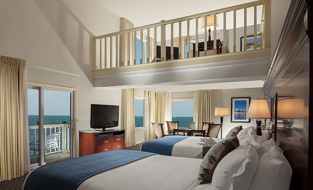 Ocean Mist Beach Hotel & Suites - Ocean Front - Two Bedrooms With Sleeper Sofa, Kitchenette