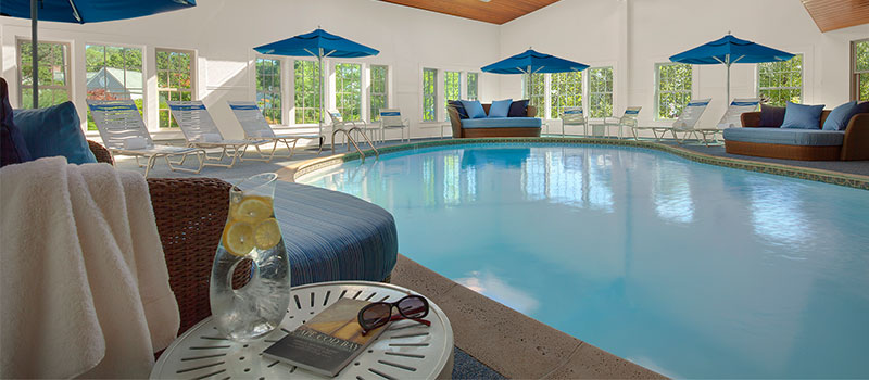 Indoor Pool in Ocean Mist Beach Hotel & Suites, Massachusetts