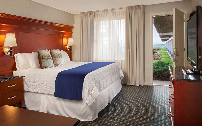 Loft Suite - Ocean View - King With Sleeper Sofa And Kitchenette at Ocean Mist Beach Hotel & Suites, Massachusetts