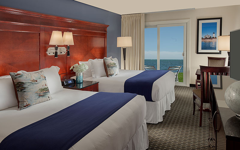 Suite 131 - Two Bedroom Ocean Front Suite With Private Patio in Ocean Mist Beach Hotel & Suites, South Yarmouth